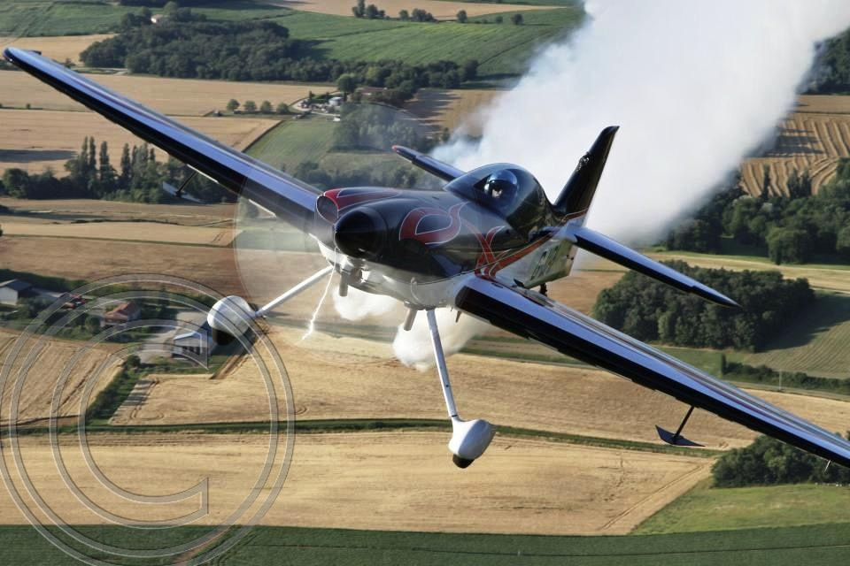"""First ever Gold for Britain in Unlimited Aerobatics"" ""Gerald Cooper"" ""Pilot"" ""European Freestyle Aerobatic Championship in Slovakia"" ""XtremeAir XA41 is a new carbon fibre aircraft"""