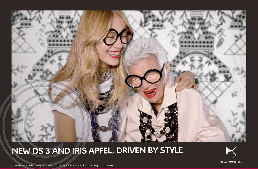8.NEW DS 3 AND FASHION ICON IRIS APFEL, DRIVEN BY STYLE