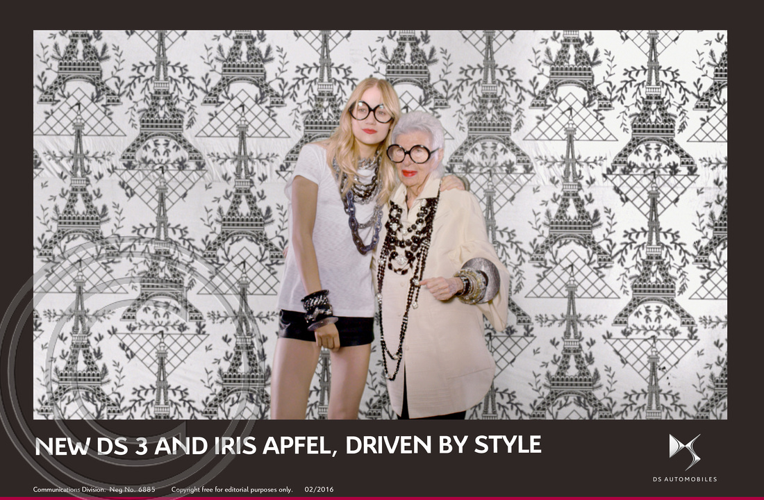 7.NEW DS 3 AND FASHION ICON IRIS APFEL, DRIVEN BY STYLE
