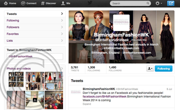 """@BHMFashionWeek"" ""Birmingham International Fashion Week"" ""#BHMFW"" ""Photographer"" ""Charles Davis"" ""Twitter Profile"""