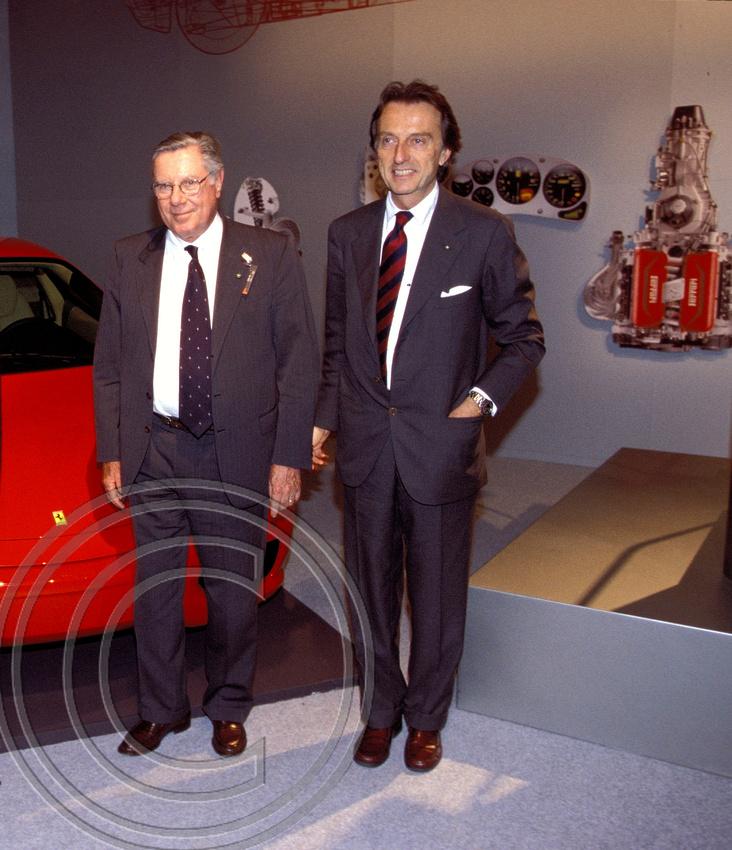 """""""Sergio Pininfarina"""" """"Luca di Montezemolo"""" Ferrari,"""