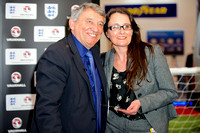 England Football Legend Graham Taylor meets Fans on Vauxhall Stand at CV Show 2014
