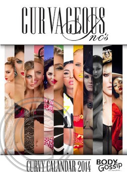 CURVY CALENDAR 2014 Curvaceous Inc Magazine