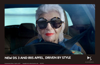 10.NEW DS 3 AND FASHION ICON IRIS APFEL, DRIVEN BY STYLE