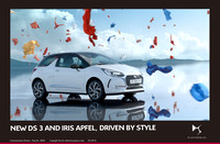 6.NEW DS 3 AND FASHION ICON IRIS APFEL, DRIVEN BY STYLE