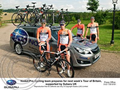 """NODE4 Pro Cycling Team"" ""Subaru UK"" ""Yellow Ltd"" ""Tour of Britain"""