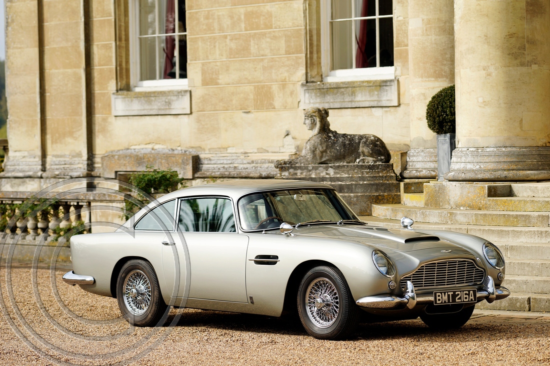 """Aston Martin"" ""DB5"" ""SKYFALL"" ""James Bond"" ""EON Productions""  ""Kingsley Riding-Felce"""