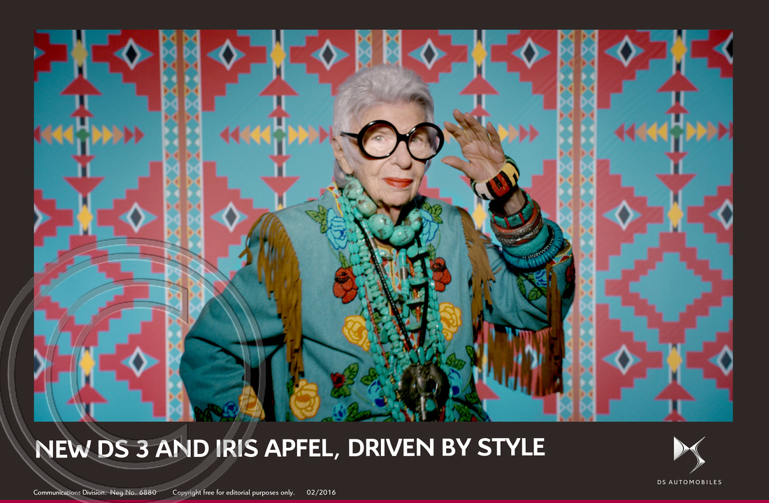 2.NEW DS 3 AND FASHION ICON IRIS APFEL, DRIVEN BY STYLE