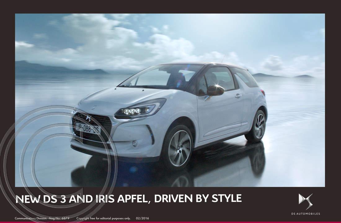 1. NEW DS 3 AND FASHION ICON IRIS APFEL, DRIVEN BY STYLE