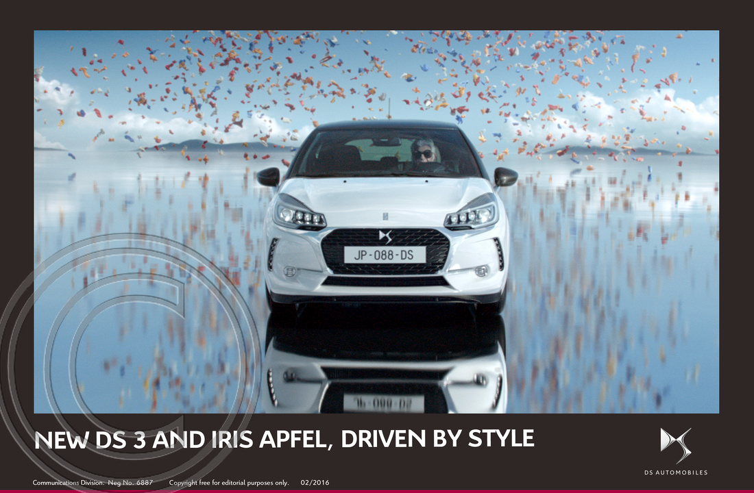 9.NEW DS 3 AND FASHION ICON IRIS APFEL, DRIVEN BY STYLE
