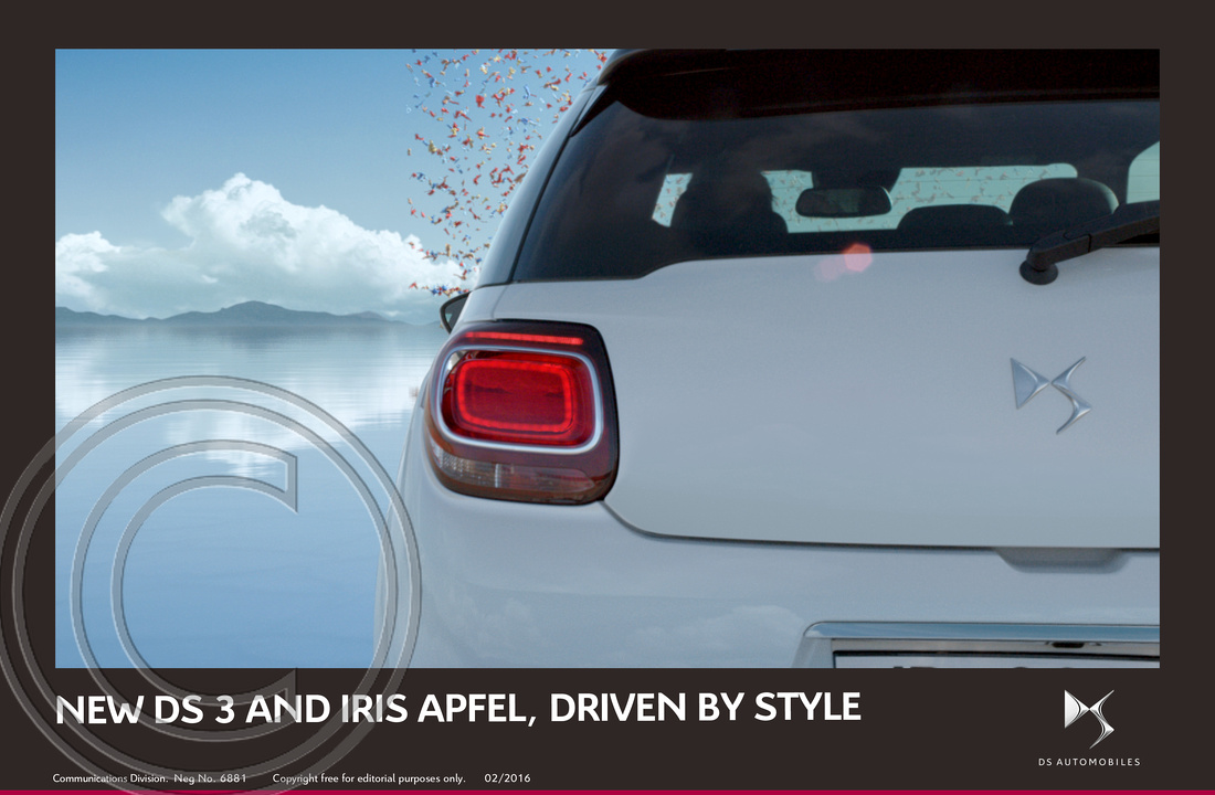 3.NEW DS 3 AND FASHION ICON IRIS APFEL, DRIVEN BY STYLE