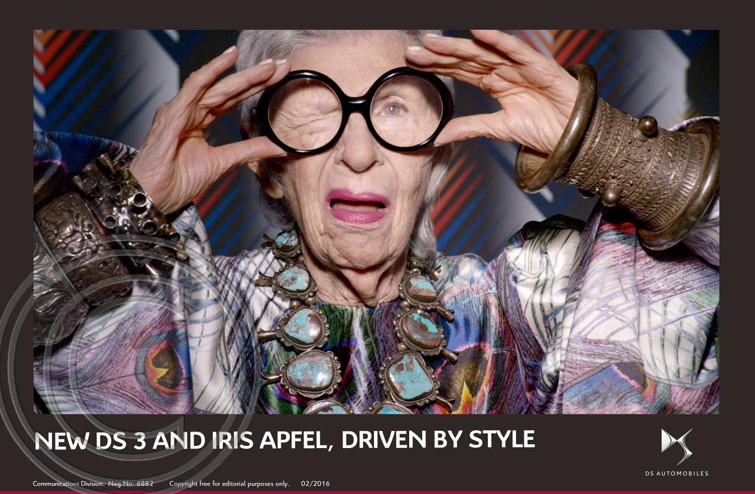 4.NEW DS 3 AND FASHION ICON IRIS APFEL, DRIVEN BY STYLE