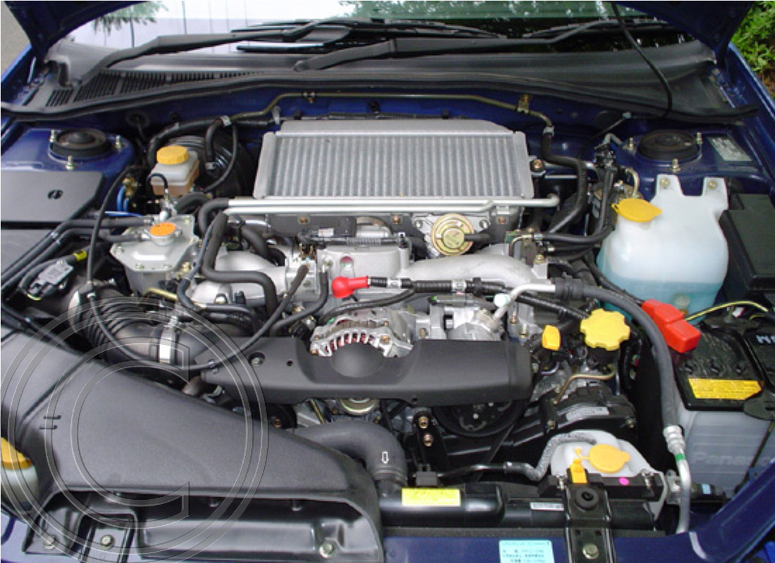 WRX NB-R Engine Bay (Stock shot from Japan)