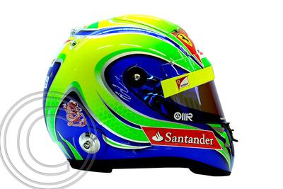 """Signed Felipe Massa Helmet"""