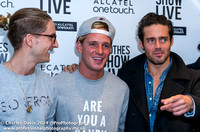 Jamie Laing with Spencer Matthews & Oliver Proudlock