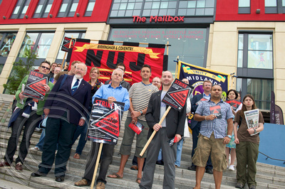 BBC Strike - Birmingham - August 2011