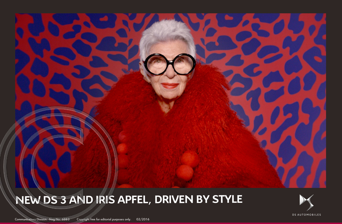 5.NEW DS 3 AND FASHION ICON IRIS APFEL, DRIVEN BY STYLE