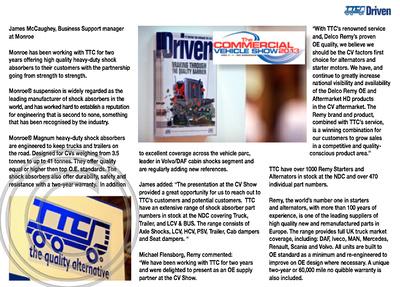"""TTC Driven Magazine"" ""Issue 3"" ""TTC Parts"""